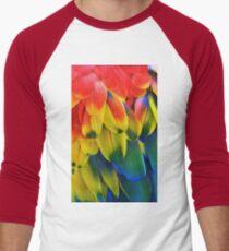 Parrot Feathers Men's Baseball ¾ T-Shirt