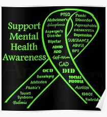 Support Mental Health Awareness Poster