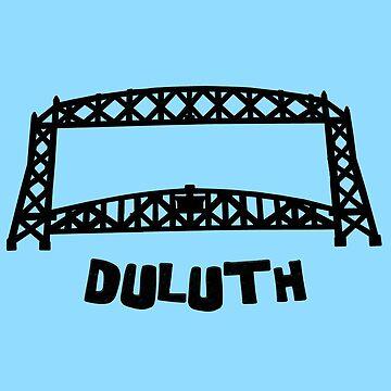 Duluth, MN Aerial Lift Bridge by gorff