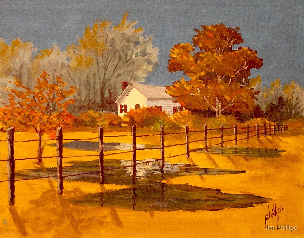 After A Hard Rain by Jim Phillips