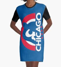 Chicago Cubs 79 T-Shirt Kleid