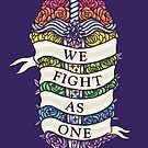 WE FIGHT AS ONE by foxflight