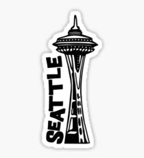 Seattle, Washingtons Raumnadel Sticker