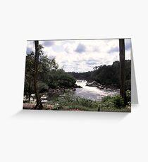 an unbelievable Suriname landscape Greeting Card