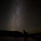 Ardvreck Castle and Milky Way by derekbeattie