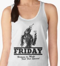 Friday Means Fish Special! Women's Tank Top