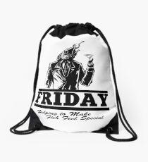 Friday Means Fish Special! Drawstring Bag