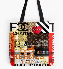 Fashions Collage Tote Bag