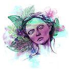 tropical lady by Lara Wolf