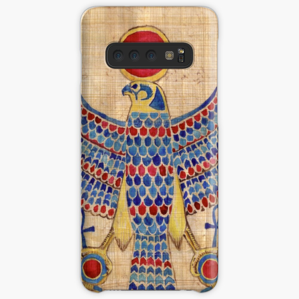 Ra: Falcon Pectoral [Papyrus] Case & Skin for Samsung Galaxy