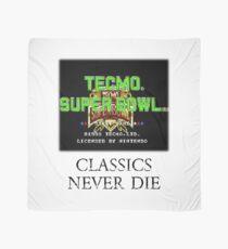 Tecmo Super Bowl Classics Never Die Scarf