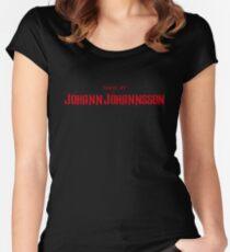 Mandy | Music by Jóhann Jóhannsson Women's Fitted Scoop T-Shirt