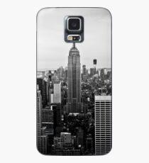 New York Skyline Hülle & Klebefolie für Samsung Galaxy