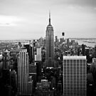 New York Skyline von Jane Terekhov
