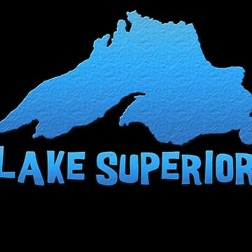 Great Lakes Lake Superior Outline by gorff