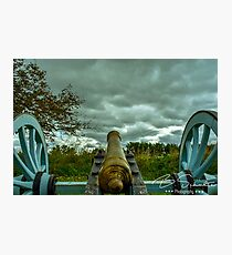 Valley Forge Cannon 2 Photographic Print