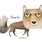 Tibetan Fox by rohanchak