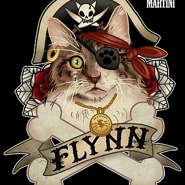 Flynn the Pirate Cat by CherryMartini