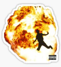 Not all heros wear capes Metro Boomin Sticker