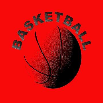 Basketball Coach's or Player's Men's Women's Tee Shirt  by AbdelaaliKamoun