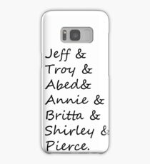 community: greendale human beings Samsung Galaxy Case/Skin