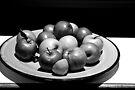 A BOWL OF FRUIT. by Cosimo Piro