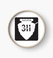 Montana Highway 311; Pease Bottom Horloge