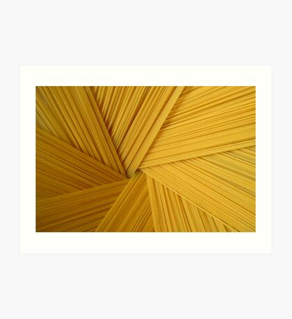 Spaghetti 1 Art Print