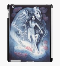 Throw Me To The Wolves (watercolour edition) iPad Case/Skin