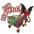 Christmas Shopping with the Devil... BAH HUMBUG! by design-r