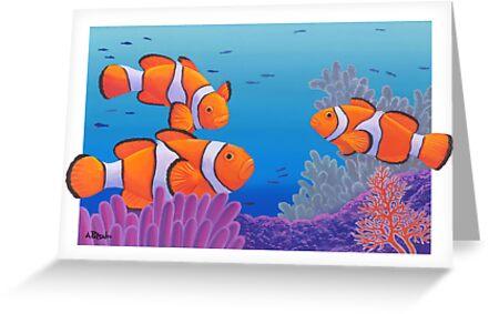 Clownfish by Andrew Patsalou