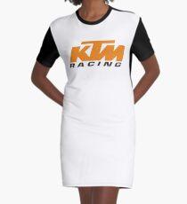 KTM Racing Graphic T-Shirt Dress