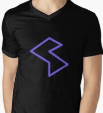 Streamia Lightning V-Neck T-Shirt