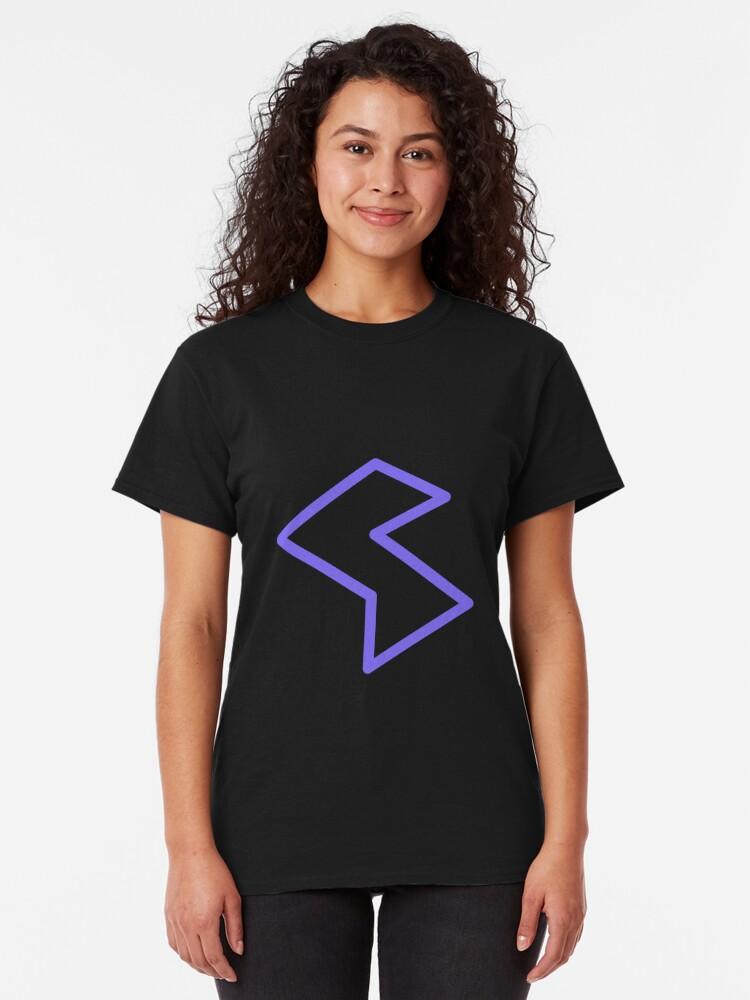 Alternate view of Streamia Lightning Classic T-Shirt