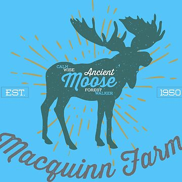 Ancient Moose Forest - Macquinn Farm by flipper42