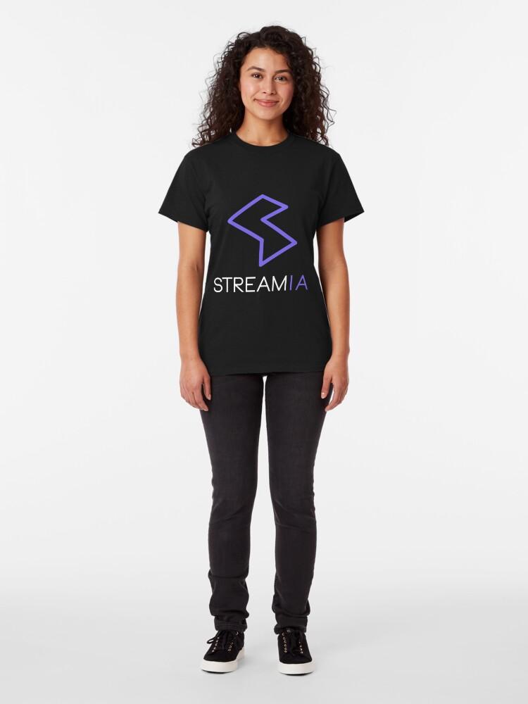 Alternate view of Streamia Logo Classic T-Shirt
