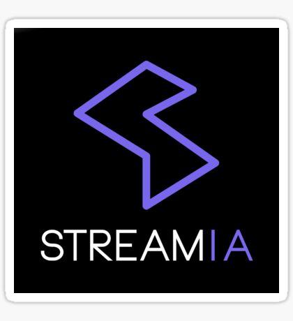 Streamia Logo Sticker