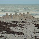 sand castles waiting by Margaret Shark