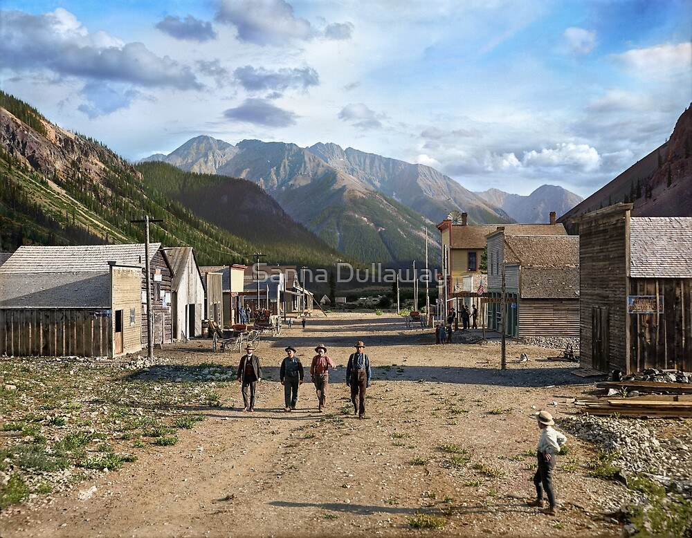 Eureka, Colorado ca 1900 by Sanna Dullaway