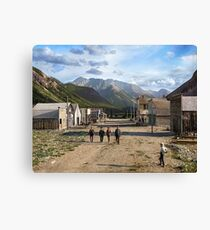 Eureka, Colorado ca 1900 Canvas Print