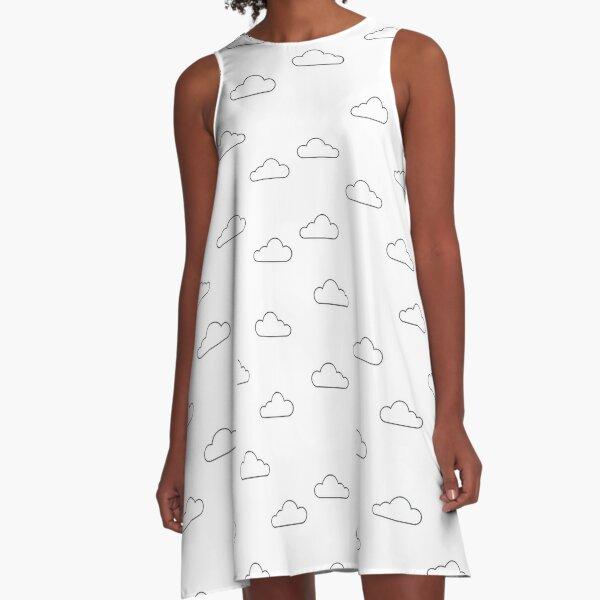 Clear Sky x Cloud A-Line Dress