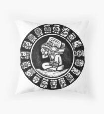 Calendar Mayan Throw Pillow