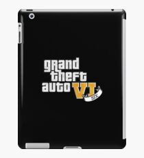 GTA VI (GTA 6) iPad Case/Skin