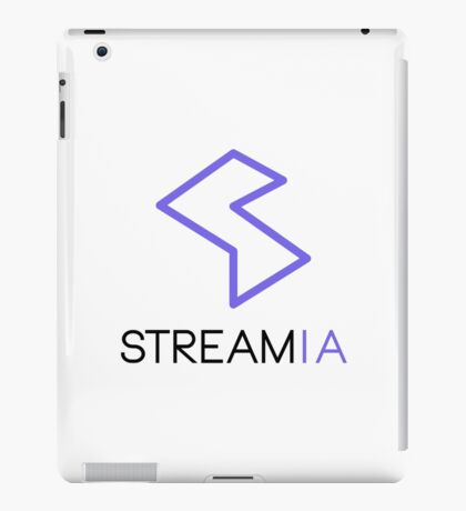Streamia Logo Alt. iPad Case/Skin