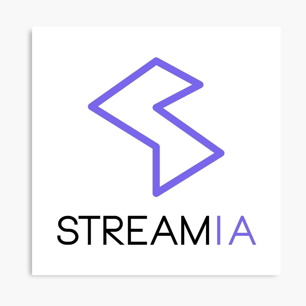 Streamia Logo Alt. Canvas Print