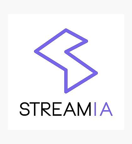 Streamia Logo Alt. Photographic Print