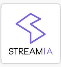 Streamia Logo Alt. Sticker