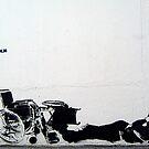 "Dolk ""Wheelchair love"" by Chris Steele"