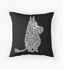 """Moomin"" Throw Pillow"