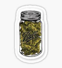 Bud Cannabis Pot Sticker